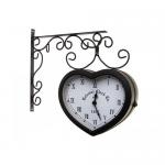 Часы двухсторонние 20*17 cm.